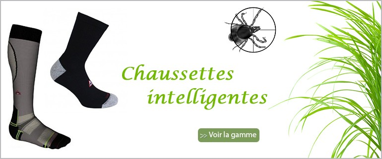 Chaussettes anti-insectes