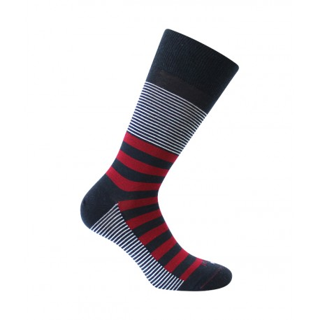 Chaussettes Rayures mix Laine