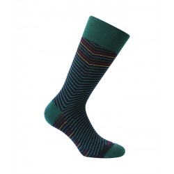 Chaussettes Rayures chevrons Laine